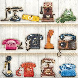 Guardanapo-Decoupage-Toke-e-Crie-GUA211531-2-unidades-Telefones-Retro