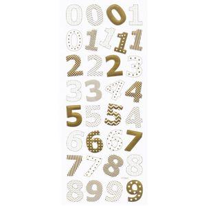 Adesivo-Foil-Metalizado-Toke-e-Crie-AD1833-Numeros-Dourado