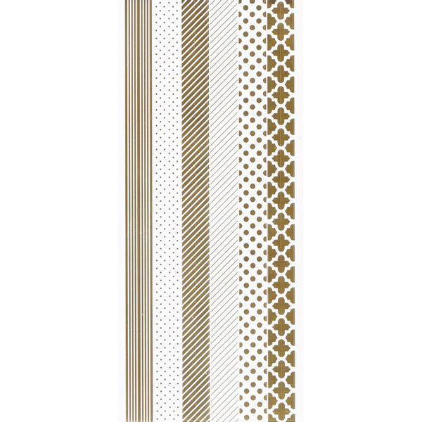 Adesivo-Foil-Metalizado-Toke-e-Crie-AD1834-Faixas-Dourada