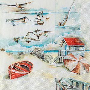 Guardanapo-Decoupage-Toke-e-Crie-GUA211726-2-unidades-Casa-na-Praia