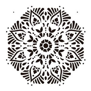 Estencil-OPA2283-Pintura-Simples-20X25-Mandala-II-Camada-II