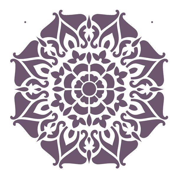 Estencil-OPA2282-Pintura-Simples-20X25-Mandala-II-Camada-I