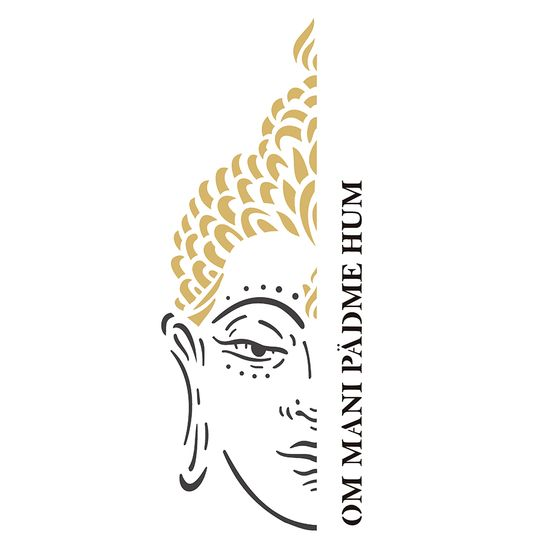 Estencil-OPA2257-Pintura-Simples-17x42-Religiao-Buda