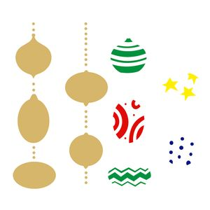Stencil-OPA-2311-20x25cm-para-Pintura-Natal-Bolas-Estampadas