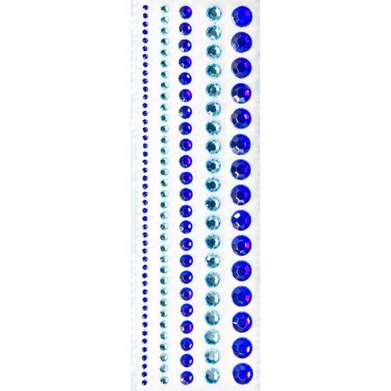 Adesivo-Borda-Strass-Toke-e-Crie-AD1011-Azul