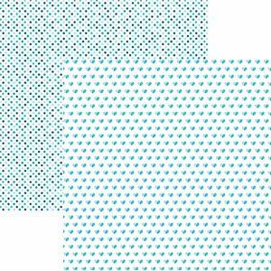 Papel-Scrapbook-Toke-e-Crie-KFSB516-Dupla-Face-305x305cm-Coracoes-e-Poa-Turquesa-by-Mariceli