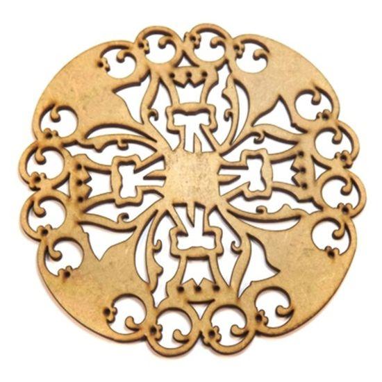 Mandala-Medieval-em-MDF-25x25cm---Palacio-da-Arte