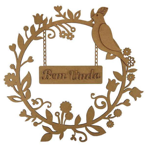 Mandala-Floresta-Bem-Vindo-em-MDF-35x35cm---Palacio-da-Arte