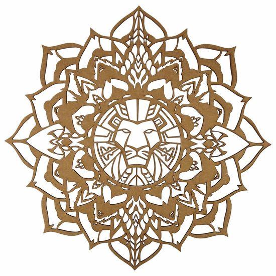 Mandala-Lotus-Africana-em-MDF-35x35cm---Palacio-da-Arte