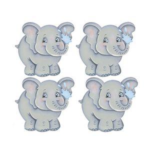 Aplique-Decoupage-Litoarte-APM3-198-em-Papel-e-MDF-3cm-Elefante