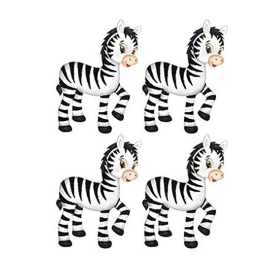 Aplique-Decoupage-Litoarte-APM3-202-em-Papel-e-MDF-3cm-Zebra