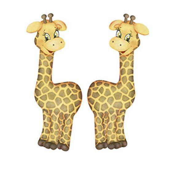Aplique-Decoupage-Litoarte-APM4-257-em-Papel-e-MDF-4cm-Girafas