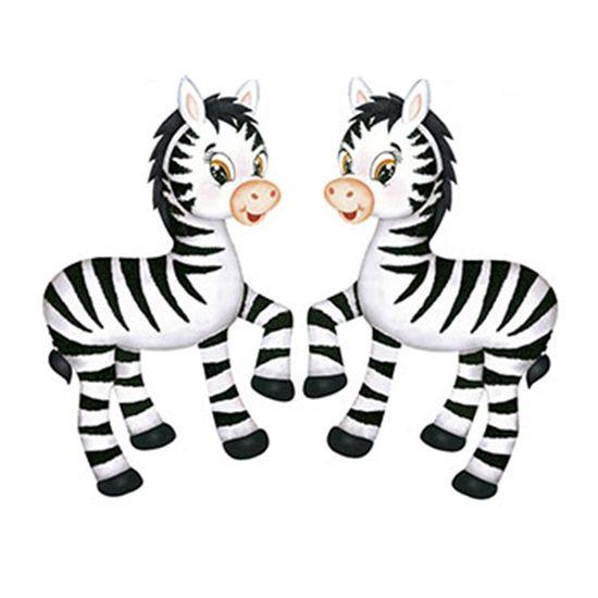 Aplique-Decoupage-Litoarte-APM4-260-em-Papel-e-MDF-4cm-Zebras