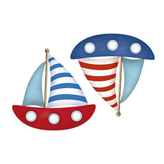 Aplique-Decoupage-Litoarte-APM4-264-em-Papel-e-MDF-4cm-Barcos