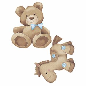Aplique-Decoupage-Litoarte-APM4-277-em-Papel-e-MDF-4cm-Urso-e-Cavalinho