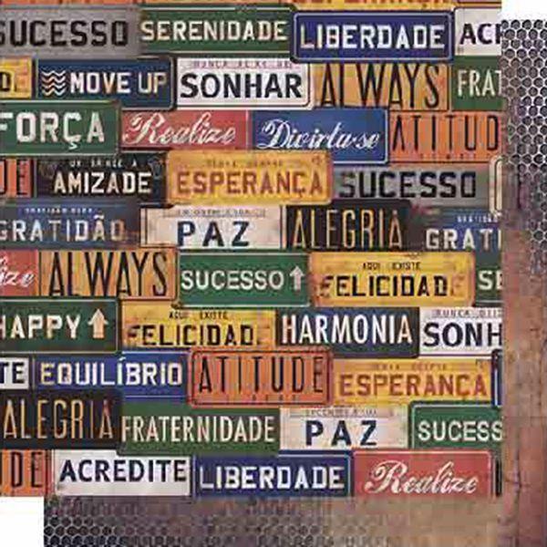 Papel-Scrapbook-Litoarte-SD-619-Dupla-Face-305X305cm-Placas-de-Carro-e-Grade