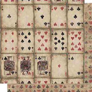 Papel-Scrapbook-Litoarte-SD-620-Dupla-Face-305X305cm-Cartas-Baralho