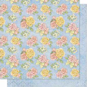 Papel-Scrapbook-Litoarte-SD-637-Dupla-Face-305X305cm-Flores