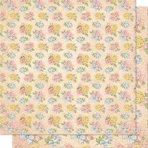 Papel-Scrapbook-Litoarte-SD-636-Dupla-Face-305X305cm-Flores