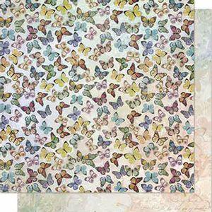Papel-Scrapbook-Litoarte-SD-641-Dupla-Face-305X305cm-Borboletas