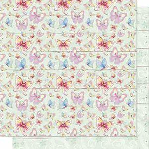 Papel-Scrapbook-Litoarte-SD-643-Dupla-Face-305X305cm-Borboletas