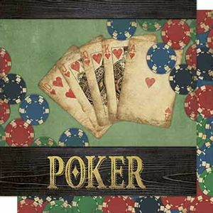 Papel-Scrapbook-Litoarte-SD-664-Dupla-Face-305X305cm-Poker