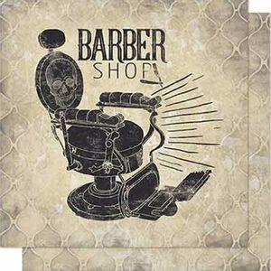 Papel-Scrapbook-Litoarte-SD-667-Dupla-Face-305X305cm-Barbeiro