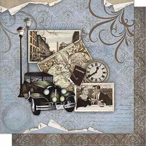 Papel-Scrapbook-Litoarte-SD-668-Dupla-Face-305X305cm-Vintage