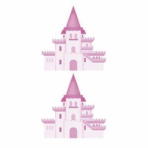 Aplique-Decoupage-Litoarte-APM4-284-em-Papel-e-MDF-4cm-Castelo-de-Princesa