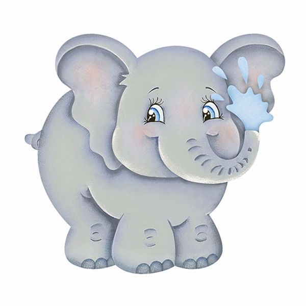 Aplique-Decoupage-Litoarte-APM8-812-em-Papel-e-MDF-8cm-Elefante