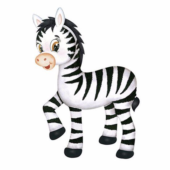 Aplique-Decoupage-Litoarte-APM8-816-em-Papel-e-MDF-8cm-Zebra