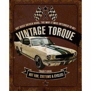 Placa-Decorativa-Litoarte-DHPM-214-24x19cm-Carro-Vintage-Torque