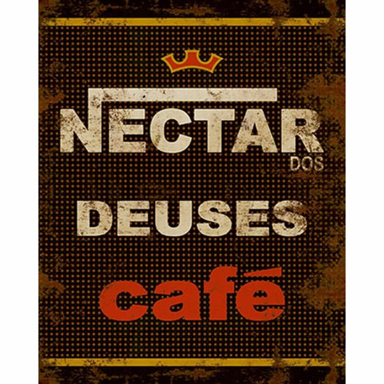 Placa-Decorativa-Litoarte-DHPM-219-24x19cm-Rotulo-Cafe-Nectar