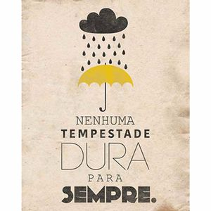Placa-Decorativa-Litoarte-DHPM-267-24x19cm-Nenhuma-Tempestade-Dura-para-Sempre