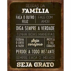Placa-Decorativa-Litoarte-DHPM-273-24x19cm-Regras-da-Familia