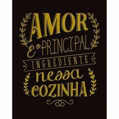 Placa-Decorativa-Lousa-Litoarte-DHPM-301-24x19cm-Amor-e-o-Principal-Ingrediente-Nessa-Cozinha