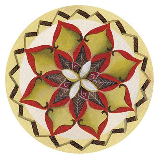 Placa-Decorativa-Litoarte-DHPM6-021-145x145cm-Mandala-Flor-Margarida