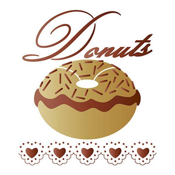 Stencil-Litoarte-STM-472-211X172cm-Pintura-Sobreposicao-Donuts