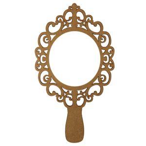 Moldura-Espelho-de-Mao-em-MDF-30x17cm-Vazado-Provencal---Palacio-da-Arte