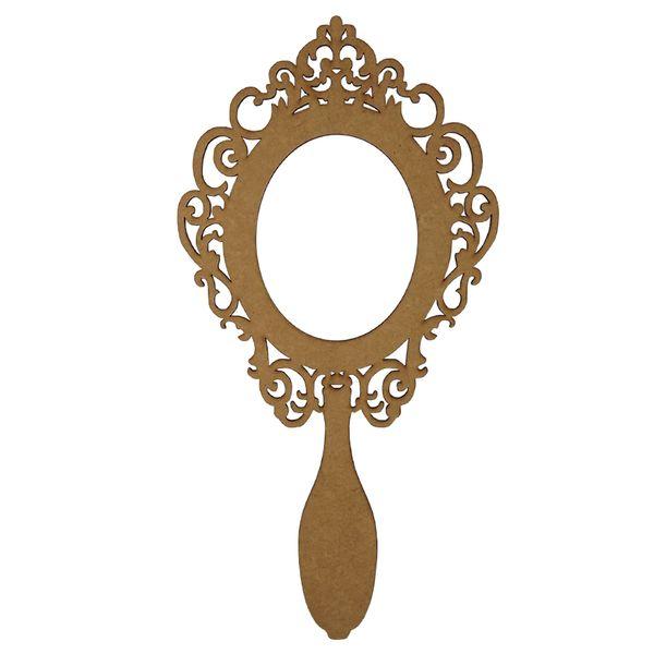 Moldura-Espelho-de-Mao-em-MDF-20x10cm-Vazado-Romano---Palacio-da-Arte