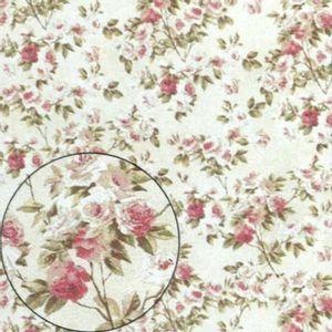 Papel-Scrapbook-Litocart-LSC-301-Simples-305x305cm-Rosas-e-Folhas