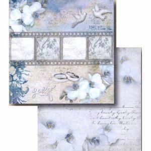 Papel-Scrapbook-Litocart-LSCD-401-Dupla-Face-305x305cm-Orquidea-e-Tira-de-Filme