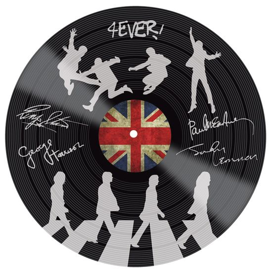 Placa-Decorativa-Litocart-LPDV-005-30x30cm-Disco-Vinil-The-Beatles
