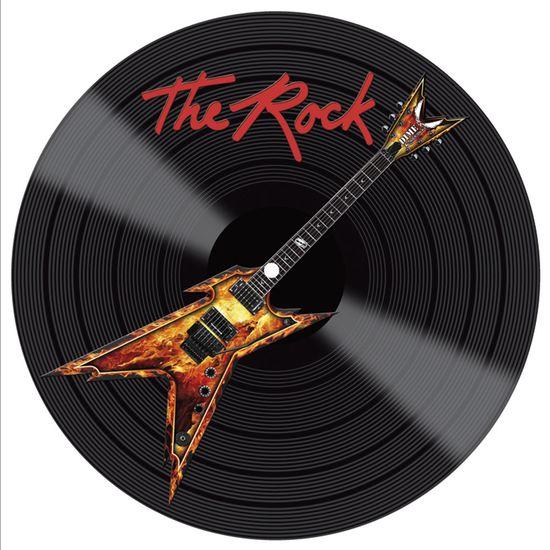 Placa-Decorativa-Litocart-LPDV-006-30x30cm-Disco-Vinil-The-Rock