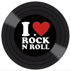 Placa-Decorativa-Litocart-LPDV-007-30x30cm-Disco-Vinil-I-Love-Rock-N-Roll