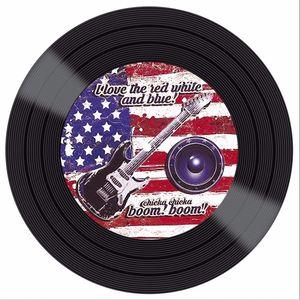 Placa-Decorativa-Litocart-LPDV-009-30x30cm-Disco-Vinil-Guitarra-Bandeira-Estados-Unidos