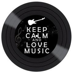 Placa-Decorativa-Litocart-LPDVP-001-20x20cm-Disco-Vinil-Keep-Calm-And-Love-Music