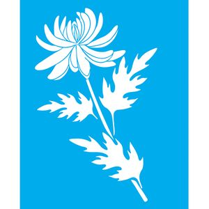 Stencil-Litocart-LSG-108-25x20cm-Pintura-Simples-Flor