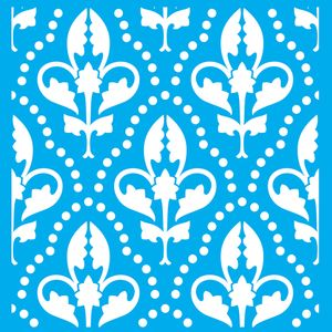 Stencil-Litocart-LSPG-001-30x30cm-Pintura-Simples-Floral
