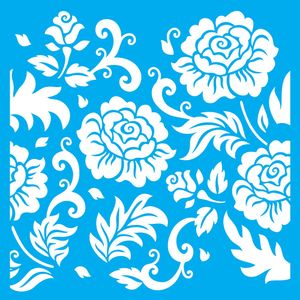 Stencil-Litocart-LSPG-011-30x30cm-Pintura-Simples-Flores-e-Folhas